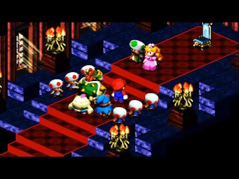 7/16- Super Mario RPG (SNES) / La Decisión De Peach Y El Monte Estelar [4:3-FHD@30]