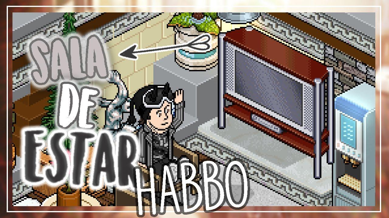 Habbo construcci n sala de estar moderna pap oso habbo for Sala de estar habbo