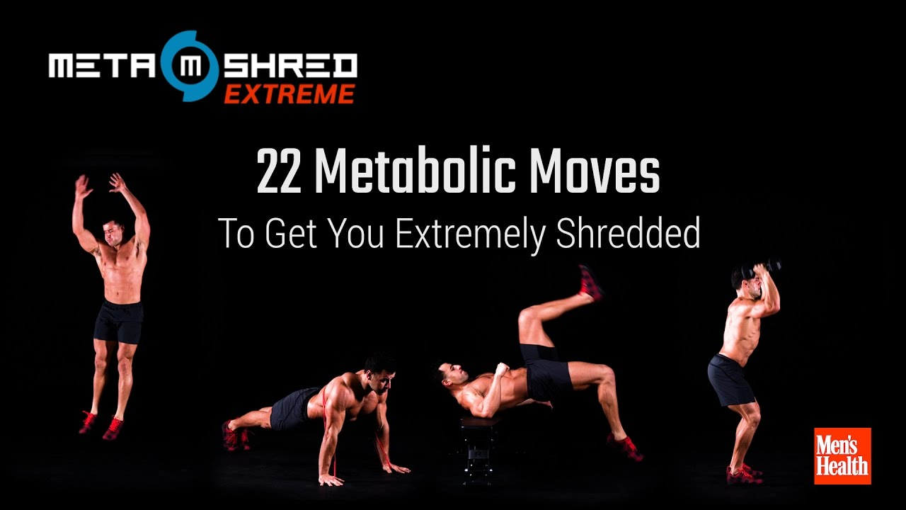 WATCH: 22 Metabolic Moves That Will Get You EXTREMELY Shredded