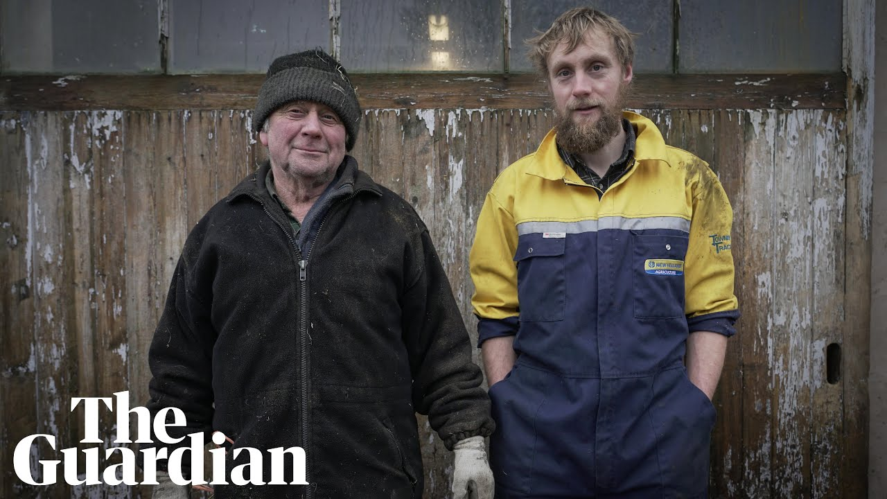 How a young British farmer fought for his survival