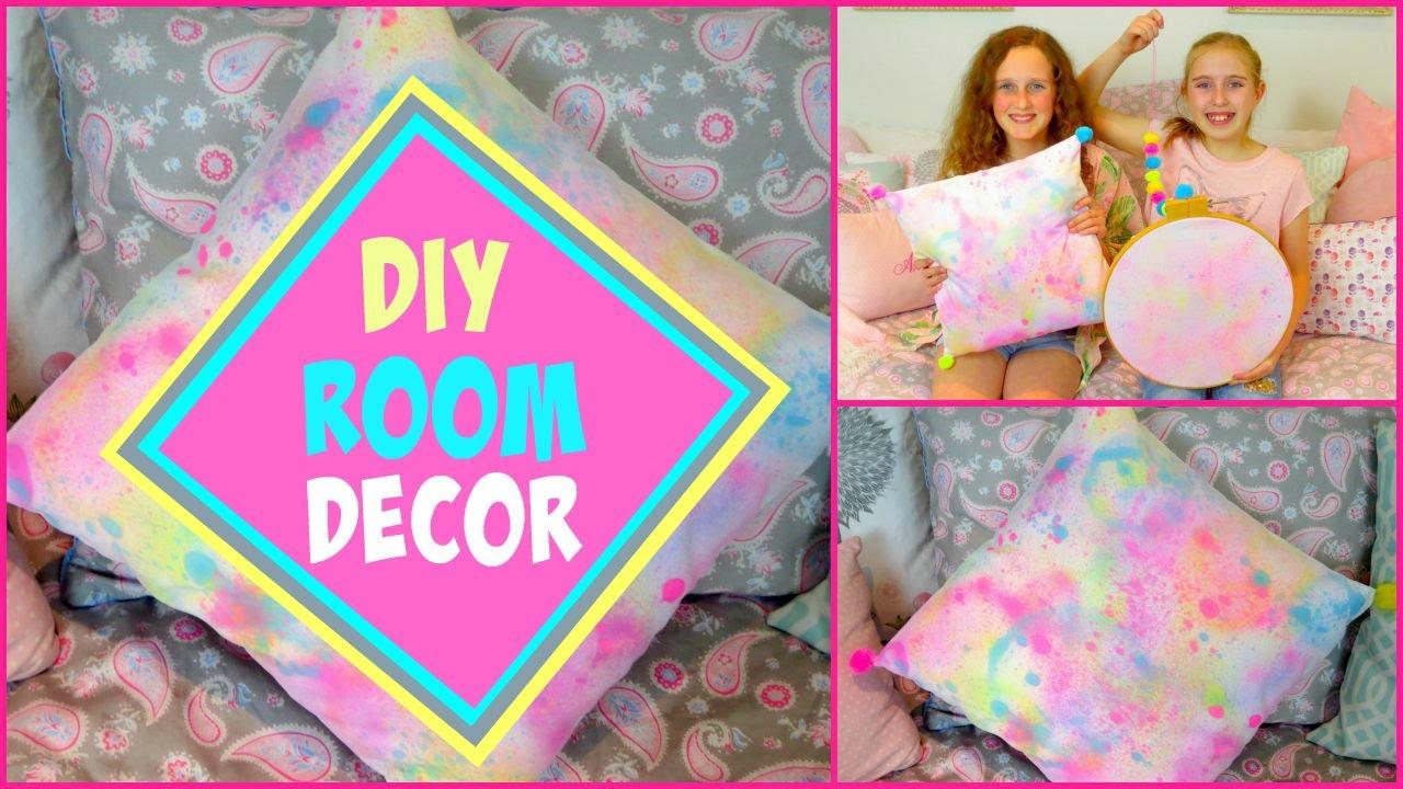 Diy room decor 2016 easy cushion wall art youtube for Diy room decor 2016