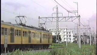 1990年夏 西武多摩湖線 401系と351系