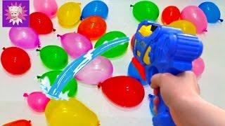 Мокрый Челлендж  брызгаемся водой и водяные бомбочками развлечения для всей семьи Water Challenge