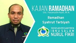 KURMA | Kajian Ramadhan (Ust. Hasanudin Azali, M.A.) - Ramadhan Syahrut Tarbiyah