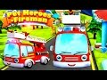 Fire Truck for Kids | Pet Heroes - Fireman : Fire Truck Cartoon | Baby Videos | Cartoon for Children