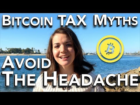 Bitcoin TAX Myths! How to Avoid the Headache with Cointracking