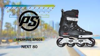 Powerslide Next 80 skates - Powerslide Speaking Specs