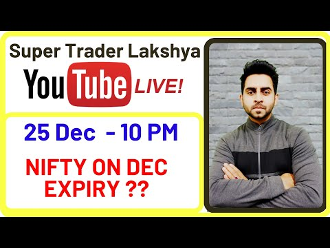 💥25Dec-10Pm🔥Nifty Prediction , What Wil Happen In Final  Expiry Of 2019 ? II STL II