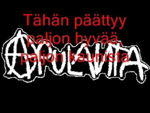 Apulanta - Armo (lyrics)