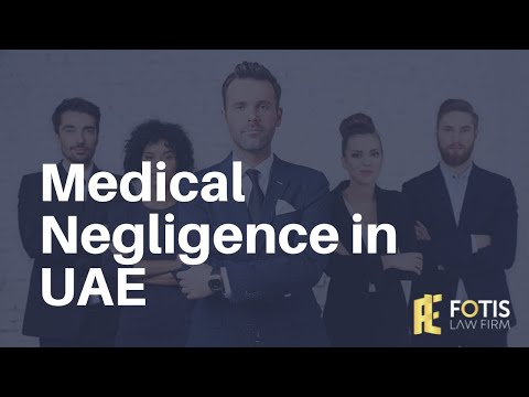 Medical Negligence in UAE