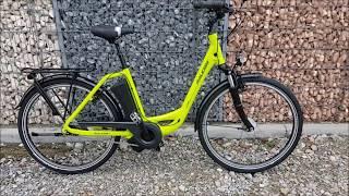 Raleigh Dover 7R Impulse Elektro Fahrrad 2018 limegreen glossy