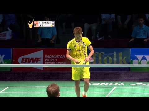 Yonex US Open C'ship 2015   Badminton F M4-MS   H-K Vittinghus vs Lee C.W