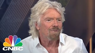 Virgin Group Founder Richard Branson: Elon Musk Is 'Absolutely Fixated' On Going To Mars | CNBC