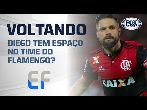 DIEGO ESTÁ VOLTANDO! Ele tem espaço no time do Flamengo?