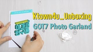 [Ktown4u Unboxing] GOT7 - Photo Garland (4th Fan Meeting)