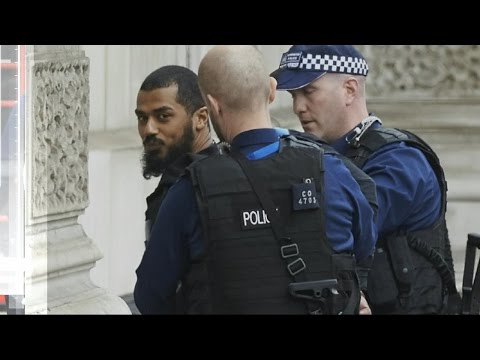 Police head off suspected terror attack near Parliament in London