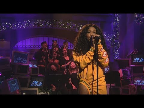 SZA - Love Galore (Mic Feed/Isolated Vocals Only) At Saturday Night Live (SNL)