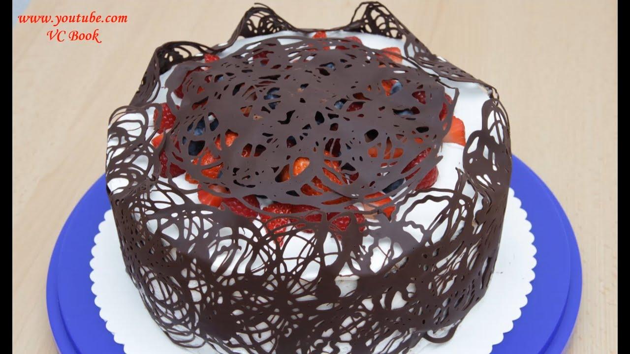 Кружево для украшения торта