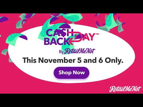 Cash Back Day at RetailMeNot