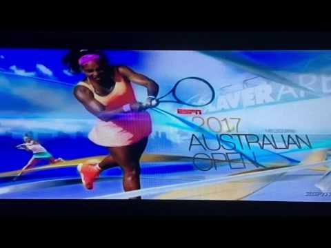 ESPN Australian Open (AO) 2017 Intro/Theme