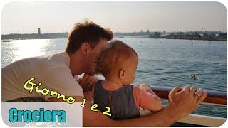 IN CROCIERA CON NOI! || Giorno 1 e 2 (Partenza e Alberobello) || Kiraja85