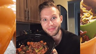 COOK WITH ME! SPICY FALL CHILI COOKING SHOW
