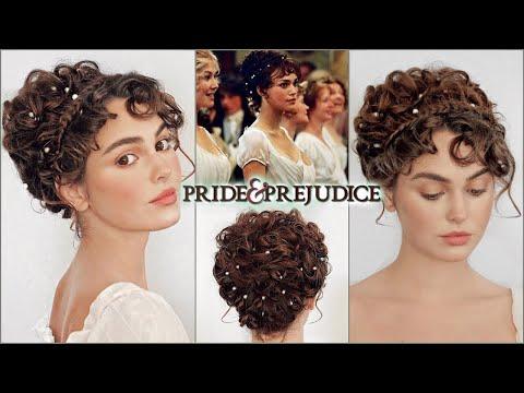 "elizabeth bennet ""pride & prejudice"" makeup & hair tutorial thumbnail"