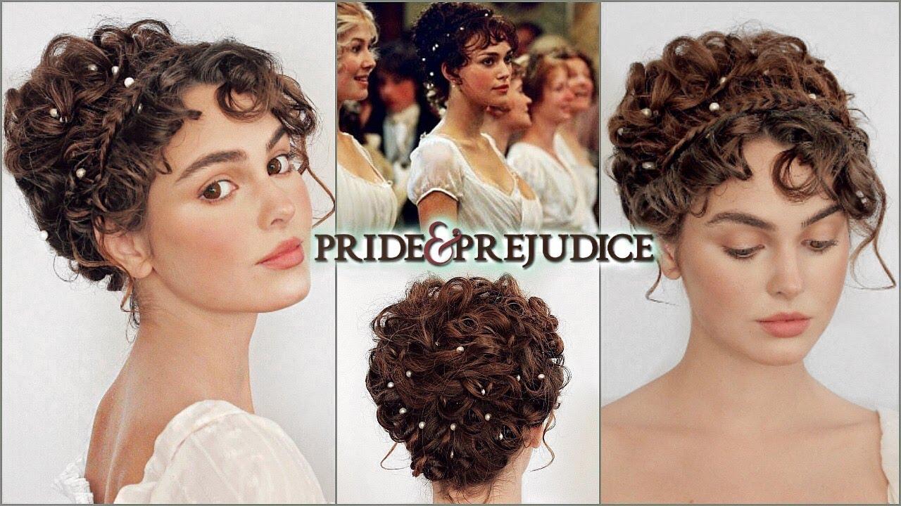 "elizabeth bennet ""pride & prejudice"" makeup & hair tutorial"