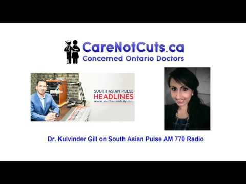 Dr. Kulvinder Gill AM770 South Asian Pulse Radio [Care Not Cuts]
