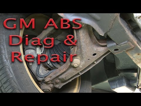 GM ABS Problem (C1232) – Diag and Repair – Is it really the wheel bearing?…prove it!
