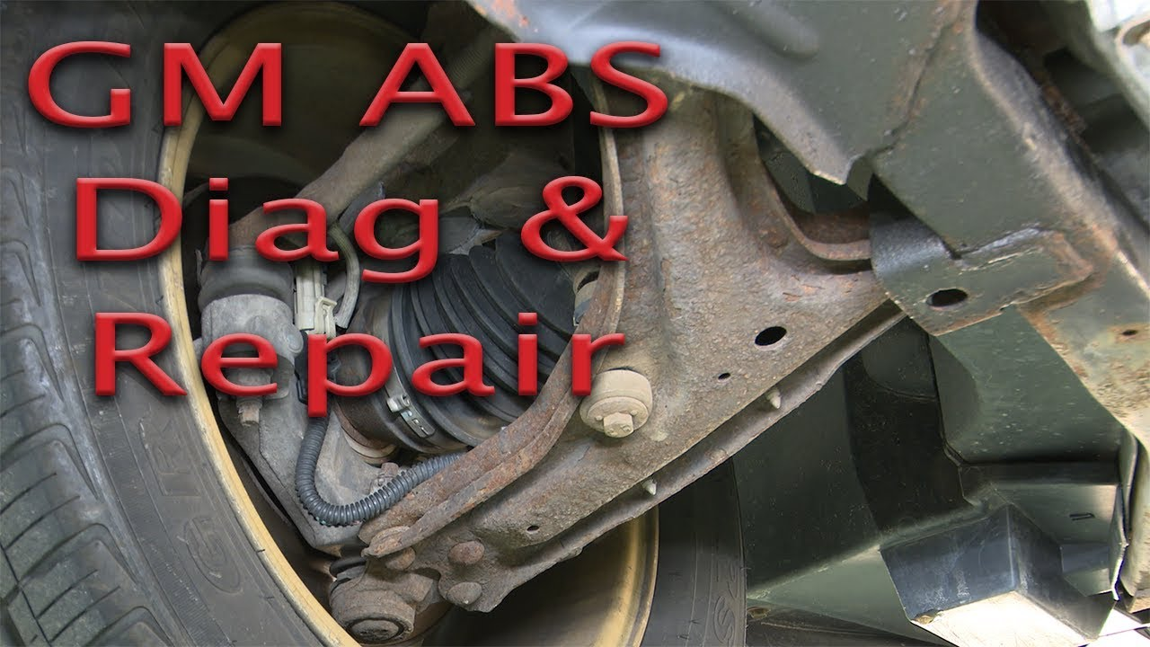 abs wire harness repair gm abs problem  c1232  diag and repair is it really the wheel  gm abs problem  c1232  diag and