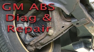 GM ABS Problem (C1232) - Diag and Repair - Is it really the wheel bearing?...prove it!
