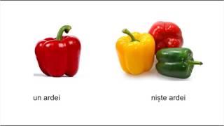 Уроки румынского языка по скайпу. Румынский язык. Румынские слова. Овощи
