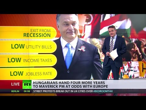 EU BudaPEST? Hungary's Euro-defying Prime Minster voted back in