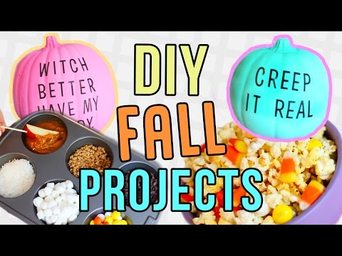 Fall DIYs You NEED To Try! DIY Pinterest Fall Projects!