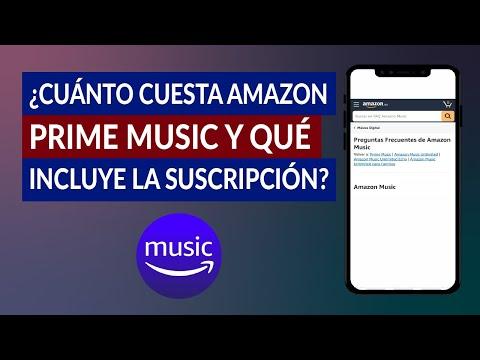 ¿Cuánto Cuesta Amazon Prime Music y que Incluye la Suscripción Exactamente?