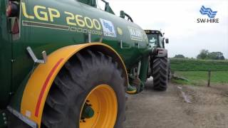 Muck Spreader & Slurry Tanker Hire