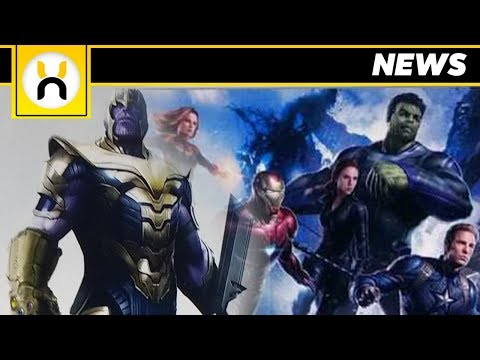Avengers 4 Thanos First Look LEAKED Promo Art