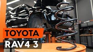 Montering Spiralfjädrar TOYOTA RAV 4 III (ACA3_, ACE_, ALA3_, GSA3_, ZSA3_): gratis video