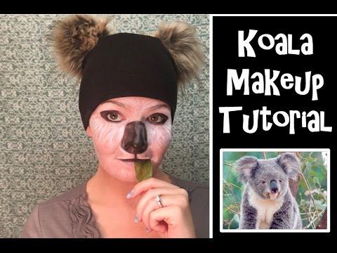 sc 1 st  YouTube & Koala Makeup Tutorial - YouTube