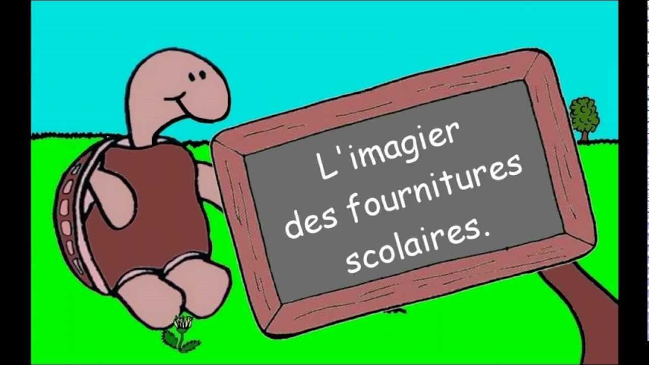 10 mon imagier en ligne les fournitures scolaires youtube for Fourniture bureau en ligne