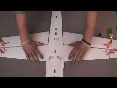 Инструкция по сборке самолета ЯК 54 EPP 1000 мм от RC FLY
