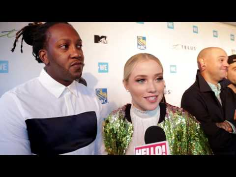 The stars at WE Day tell Hello! their biggest celebrity inspiration