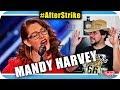 MANDY HARVEY EXTRAORDINÁRIA - Marcio Guerra Canto Reagindo Musica React #AfterStrike
