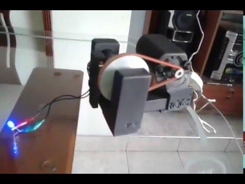 Generador de corriente alterna casero youtube - Generador de corriente ...
