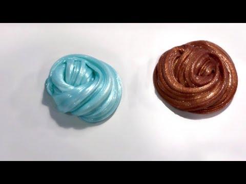 How to Make Metallic Slime | DIY Shiny Slime Tutorial!