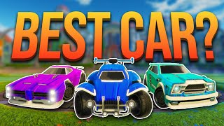 Which Car is the BEST Car in Rocket League