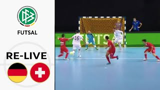 Deutschland - Schweiz 5-3 | Volle Länge | Playoffs zur EM 2022 | Futsal