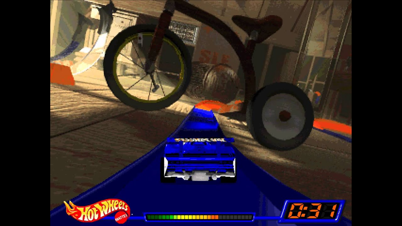 lets play hot wheels stunt track driver part 1 game