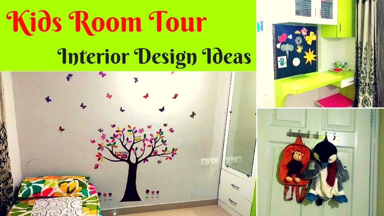 Home Tour 1 - Kids Room Tour - Interior Design and organization ...